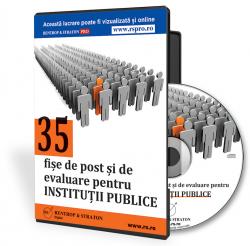 Controale dure la institutiile publice privind existenta fiselor de post si a fiselor de evaluare!
