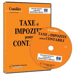 CD Consilier Taxe si Impozite pentru