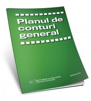Brosura Planul de conturi general