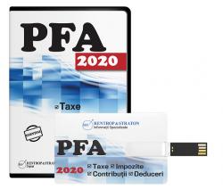 PFA: Taxe, impozite, contributii, deduceri 2020