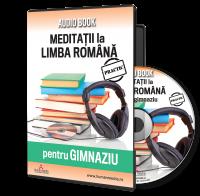 Meditatii la limba romana pentru gimnaziu