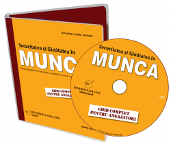 "CD-ul ""Securitatea si Sanatatea in Munca"""