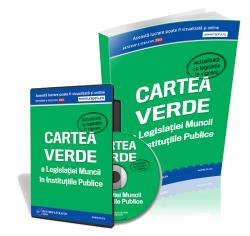 Pachet Carte si CD Cartea Verde a Legislatiei Muncii in Institutiile Publice
