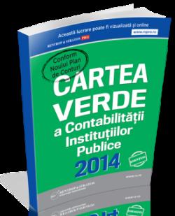 Cartea Verde pentru Contabilitatea Institutiilor Publice 2014