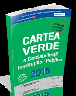 Contabilitate Institutii Publice 2015