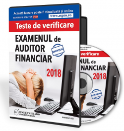 auditor financiar, grile examen