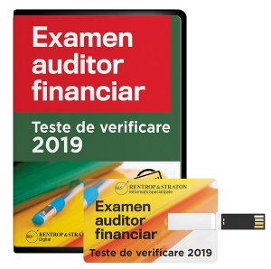 Examen auditor financiar 2019. Teste de verificare - varianta pe stick (USB)