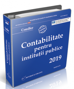 Monografii Contabile Institutii Publice 2019