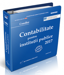 Monografii Contabile Institutii Publice 2017