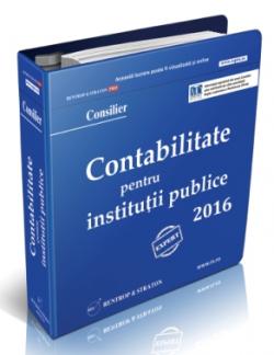 Contabilitate Institutii Publice 2016