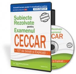 Teste de verificare pentru examenul CECCAR 2015