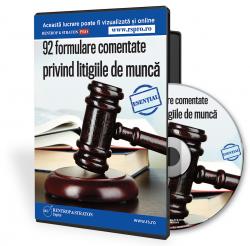 92 formulare comentate privind litigiile de munca Ã��Ã�¢Ã�¯Ãï¿&