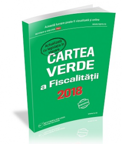 Cartea Verde a Fiscalitatii 2018