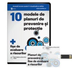 10 modele de planuri de prevenire si protectie + fise de evaluare a riscurilor SSM