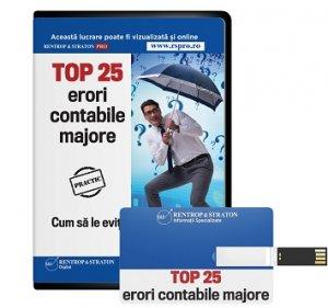 TOP 25 erori contabile majore