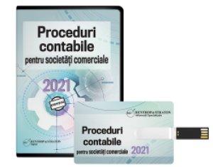 Proceduri contabile pentru societati comerciale 2021