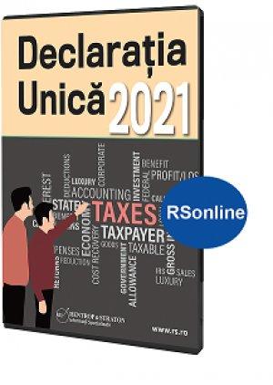Declaratia Unica in 2021 (varianta online)