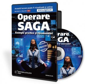 CD Saga pentru PFA. Operare, exemple practice, recomandari