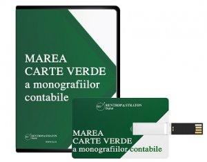 Marea Carte Verde a Monografiilor Contabile 2021 (Stick USB)