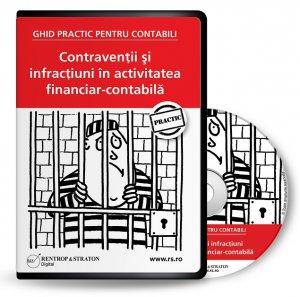 CD - Contraventii si infractiuni in activitatea financiar-contabila
