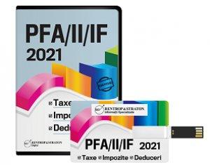 PFA/II/IF 2021. Taxe, impozite, deduceri