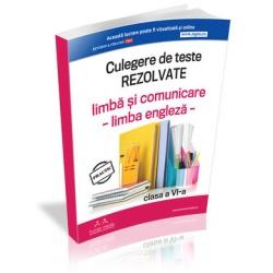Culegerea de teste pentru evaluarea nationala clasa a VI-a, proba de limba si comunicare