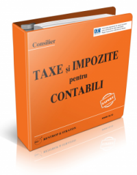 Consilier Taxe si Impozite