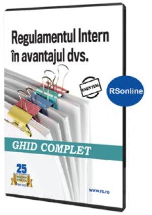 Regulamentul intern in avantajul dvs. - format Rsonline.ro