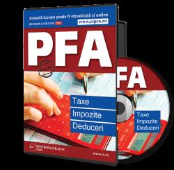 CD PFA: Taxe, Impozite si Deduceri