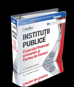 Consilier Controlul financiar preventiv in institutiile publice in 2017