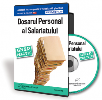 CD Dosarul personal al salariatului. Ghid practic