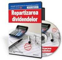 Repartizarea dividendelor catre actiunari in 2017