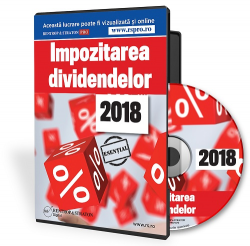 Impozitarea dividendelor 2018