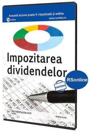 Impozitarea dividendelor - varianta online