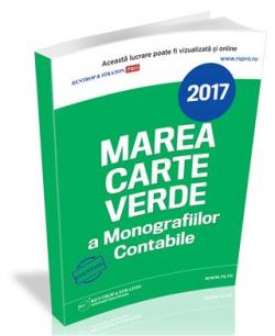Marea Carte Verde a Monografiilor Contabile 2017