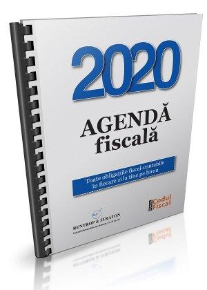 Agenda obligatiilor fiscal-contabile 2020