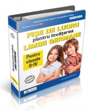 Culegere fise lucru pentru invatarea limbii germane clasele 0-IV + Cadou