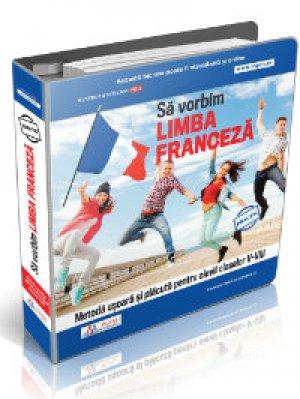 Culegere fise lucru pentru invatarea limbii franceze clasele V-VIII + Cadou
