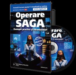CD Operare SAGA. Exemple practice si recomandari
