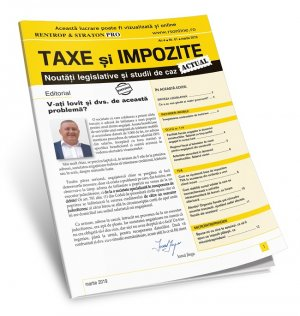 Newsletter bilunar - Taxe si Impozite Actual (abonament 12 luni)