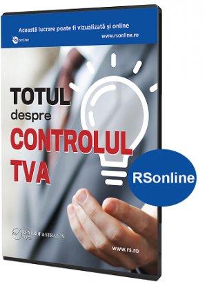 Totul despre controlul TVA