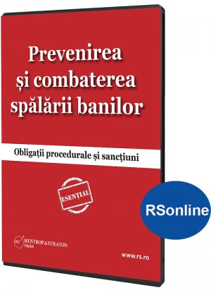 Prevenirea si combaterea spalarii banilor