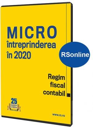 MICROintreprinderea in 2020. Regim fiscal-contabil