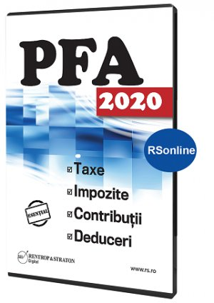 PFA 2020: Taxe, Impozite, Deduceri, Contributii