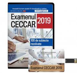 Subiecte rezolvate pentru examenul CECCAR 2019