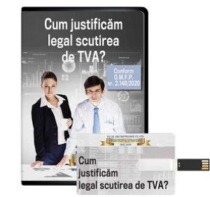 Cum justificam legal scutirea de TVA? Conform O.M.F.P. nr. 2.148/2020! - format STICK