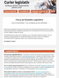 curierul legislativ