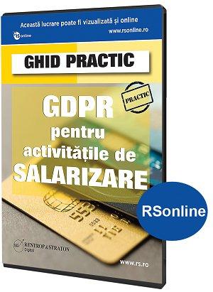 Ghid GDPR pentru activitatile de salarizare