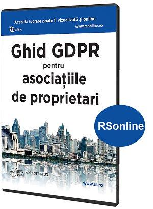 Ghid GDPR pentru asociatii de proprietari