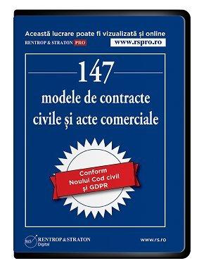 147 modele de contracte civile si acte comerciale